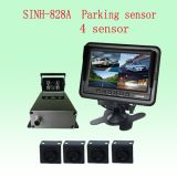 4 Sensors Backup Reversing Sensor Connect with Rearview Camera System for Truck