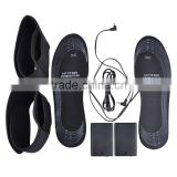Far Infrared Battery Heated Insoles with Leg Straps Battery Powered for Men Women Foot Warmer