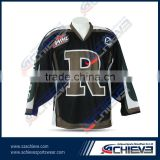 custom Canada goalie size Reversible ice hockey jerseys sublimation team hockey shirts socks