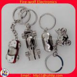 Shenzhen factory direct wholesale jewelry small metal key ring key chain model doll best selling promotional gifts