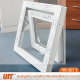 Vinyl Window for Sale Plastic Small PVC Awning Window with Tempered Glass
