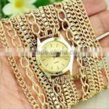 2015 Vogue Women's hot diy wrist hawaii style vintage retro lady quartz bracelet watch