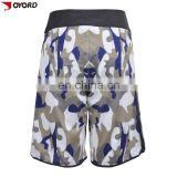 Printed plus size waterproof men's swimming trunks