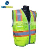 Hot selling safety high visibility custom Ansi standard 100 Cotton Safety Vest