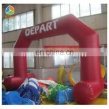 advertising inflatable entrance arch, inflatable red arch rental, inflatable finish line arch