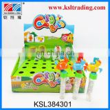 24PCS plastic wind up animal candy toy for children