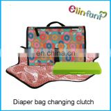 Foldable waterproof baby changing mat portable changing diaper cultch pads
