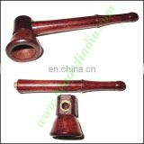 Handmade rosewood smoking pipe, size : 3 inch pipe