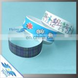 One Time Use Waterproof Inkjet Printed Tyvek Paper Wristband/Bracelet/Band For Events/Hotel/Movie