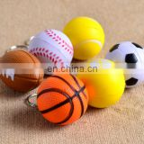 customized football basketball baseball softball charms Key Chain cheap football keychains gifts football fan's gifts