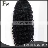 High quality peerless peruvian virgin lace front remy raw human hair wig with baby hair