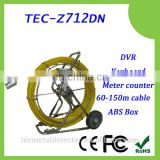 Big size camera pipe inspection equipment TEC-Z712DNL with 512Hz transmitter