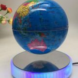 led light magnetic floating levitate bottom globe 8 inch 7 inch 6 inch