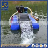Small gold mining equipment Mini Gold Dredging Boat 3""