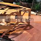 corten steel metal commercial outdoor garden treasures classics furnitures