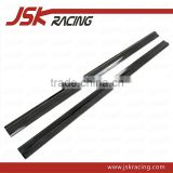 2011-2013 REZ STYLE CARBON FIBER SIDE SKIRTS EXTENSION FOR MERCEDES BENZ C-CLASS W204 AMG C63(JSK060136)