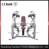 Biceps Curl/TZ-5044/hammer strength fitness machine/ plate loaded body building gym equipment