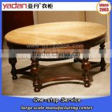 Pavilion shape cheap round coffee table,tea table,sofa center table,file table lobby furniture