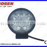 27W LED work light with 9-30V input, used for truck/tractor/heavy-duty/farming/mining 2015 hotsale