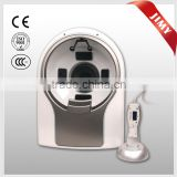 2013 newest magic mirror computer style intelligent facial skin analyzer skin moisture analyzer skin testing equipment