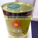 5L printed non spill round tin can / aerosol tin can 5 liter / tin can lids manufacturer China