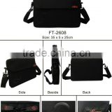 Promotional high quality hot sale special fashion Luxuary business Men Laptop bag black polyester factory price