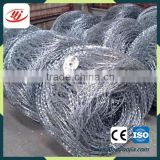 Factory Low Price Guaranteed Cheap Galvanized Plastic Pvc Coated Barbed Razor Wire Manufacturer