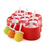 Hot selling silicone ice pop mold for wholesales                                                                                                         Supplier's Choice