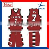 Sublimation Reversible Mesh Basketball Jerseys Clothing