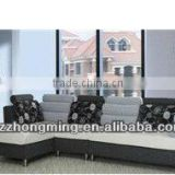 White&Gray Modern Design Office Sofa F-008