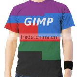 Best selling custom design 65 polyester 35 cotton t shirt/stretch cotton t shirt/cotton t shirt 120 grams