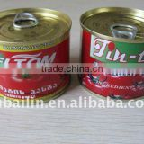 brix 28/30% 210g fresh canned food with favorable price and high quality