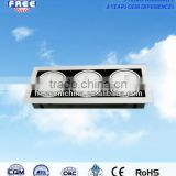 18W grille light aluminum alloy shell parts direct-selling square suitable for installation in a ceiling scriptorium