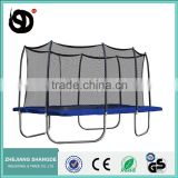 14ft*16ft Large Rectangle Trampoline with Enclosure