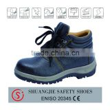 CE EN ISO 20345 standard Steel Toe and Plate safety shoes dual density PU injected sole industrial safety shoes for worker 8044