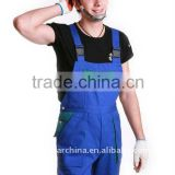 Cotton Blue Workwear Bib Overall for Men