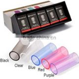 Colorful glass tube Pyrex Glass tube for sale fit for Mini protank2&3