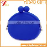 Factory Custom Bulk wholesale silicone coin purse with Candy Color