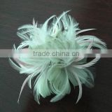 Feather millinery supplies,millinery flower,feather flower decoration