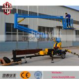 CE certificated! 16m hydraulic spider boom lifts access platform towable cherry picker for sale