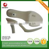china manufactures ladies high heel dress shoes ABS sole