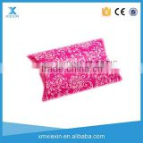 Clear plastic pillow transparent packing box with printing customized plastic pillow pack box