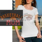 Heat transfer label basketball printing rhinestone motif