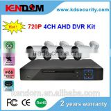 shenzhen professional security manufacturer cctv kit for home security system cctv camera kit cheapest 4ch ahd dvr kit                                                                         Quality Choice