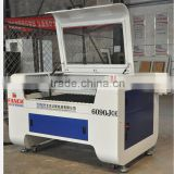 Factory supply high efficiency double heads Co2 laser cutting machine for fabric, leather, carpet