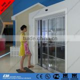 Residential automatic sliding door, security glass, aluminum frame, brushless motor