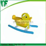 kids spring cheap wooden rocking horse