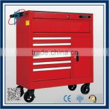 Steel metal Tool trolley with handle and wheels                                                                         Quality Choice