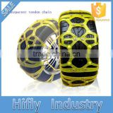 HF-102 New Design Universal TPU Plastic Snow Chain Highe Qualit PlastIc/Rubber/Fabric Snow Chain