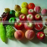 Fruit shape Candle apple candle pear candle orange candle grape candle
